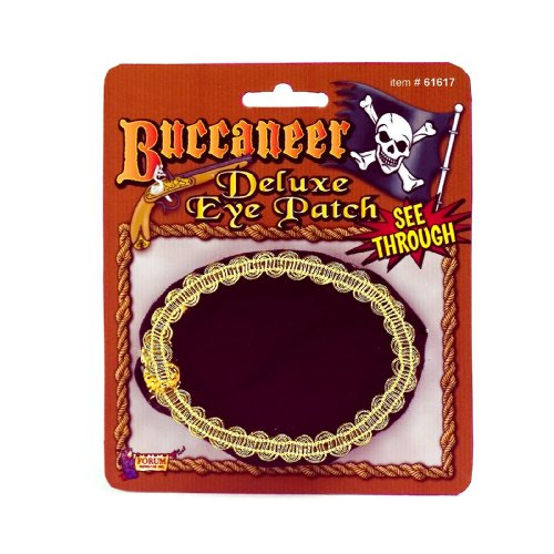 Deluxe Pirate Eye Patch (Standard)