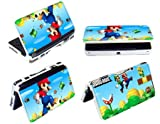 New Super Mario Bros Hard Front & Back Case Cover for Nintendo 3DS