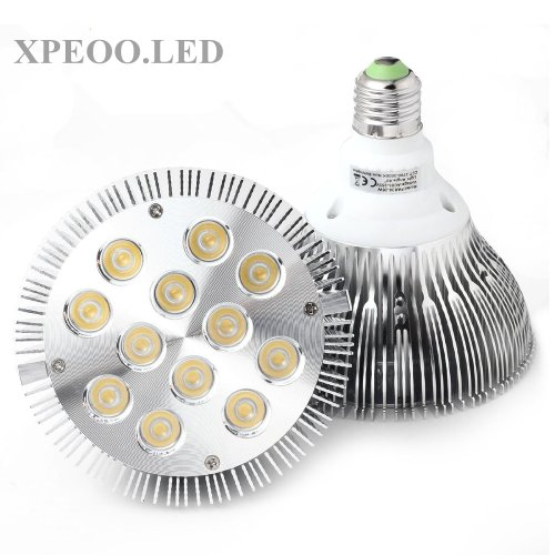 Xpeoo® 26W Par38 Dimmable Led Light Replace 100W Halogen Bulb Smd Flood Recessed Spot Lamp Socket Bases 100% Electricity Saving 60°Cool/Warm White (Par38 Dimmable Cool White)