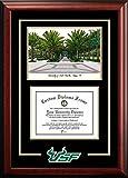 South Florida USF Bulls Alumni Mahogany Diploma Frame