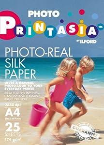 Printasia Photo-Real Silk Paper (25 Sheets)