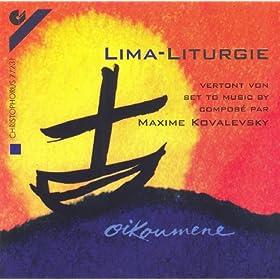 Kovalevsky, M.: Lima-Liturgie (Ensemble Officium)