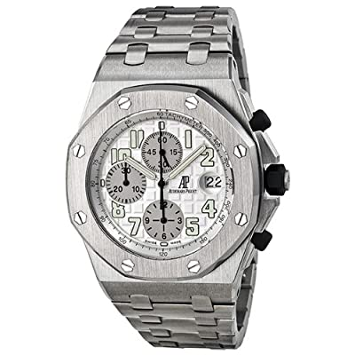 Audemars Piguet Royal Oak OffShore Chronograph Silver Dial Watch 25721ST.OO.1000ST.07.A