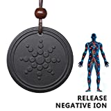 Generic Anti Radiation Shield EMF Neutralizer Negative Ions Energy Pendant Necklace Orgone Pendant