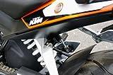 キジマ(Kijima) ヘルメットロック ブラック KTM DUKE125:12Y-/200:13y- [品番]   KTM-05000