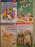 img - for Easy Readers Level 1 Set (Pig at Play, Surprise Puppy, Brave Norman, Jack and Jill and Big Dog Bill) book / textbook / text book