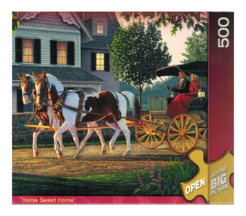 Master Pieces - 500 Pc Puzzle - Home Sweet Home - by Kim Norlien