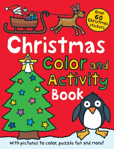 Christmas Preschool Color and Activity Book (Preschool Color And Activity Book compare prices)