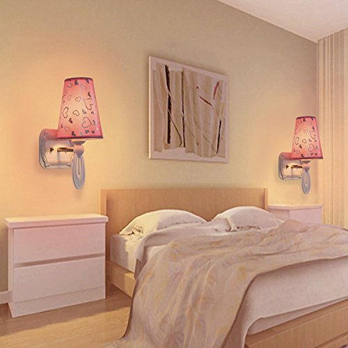 FEI&S Wall Sconce Lamp Spotlight Soft Light Bedside Light with Switch