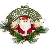 (IN MODE) かわいい クリスマス リース A-213 (サンタさん)