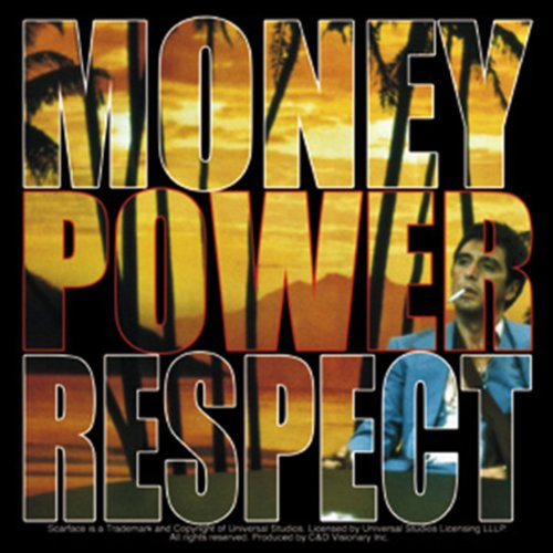 Licenses Products Scarface Money Power Sticker