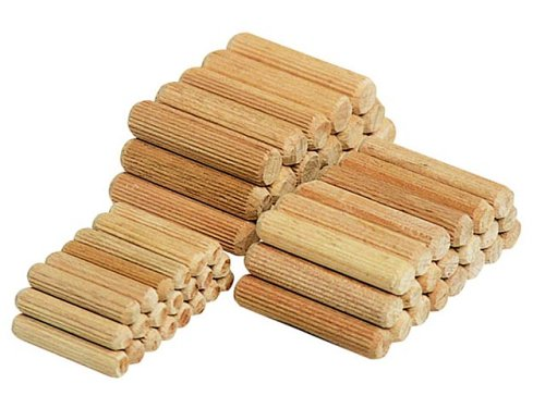 Wolfcraft 2906 Dowel Pins (Pack of 50) 6x30mm