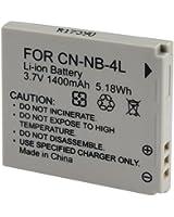 NB-4L 3.7v Batterie Li-lon remplacement neuf pour Canon NB-4L IXUS 115 HS 220 HS