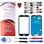 ProKit for Samsung Galaxy S3 i9300 I747 T999 Pebble Blue Replacement Screen Glass Lens Kit