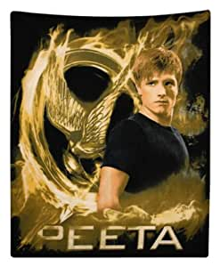 The Hunger Games Movie polar Fleece Peeta