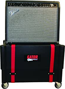 gator cases molded plastic 1x12 combo amp transporter and stand musical instruments. Black Bedroom Furniture Sets. Home Design Ideas