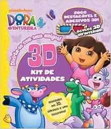 Dora, a Aventureira. Divirta-Se com Seus Amigos 3D (Em Portuguese do