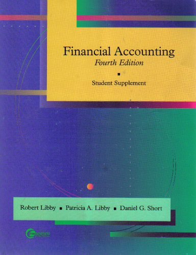 Financial Accounting (Student Supplement)