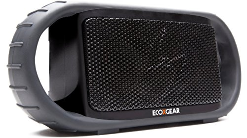 Ecoxgear Ecoxbt Rugged And Waterproof Wireless Bluetooth Speaker (Black) front-1044396