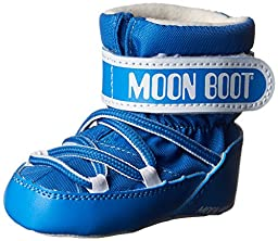 Moon Boot Crib Winter Fashion Boots, Light Blue, 20 EU (3-5 months M US Infant)