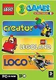 Lego 3 Games Creator Legoland Loco