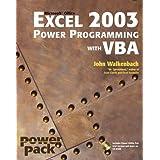 Excel 2003 Power Programming with VBAby John Walkenbach