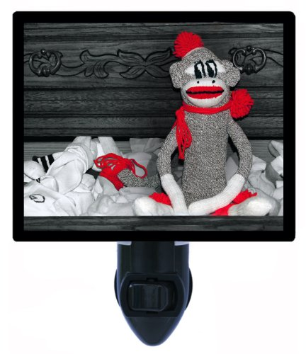 Night Light - Sock Monkey front-1052820