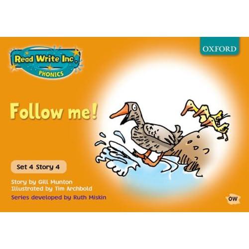 Read Write Inc. Phonics: Orange Set 4 Storybooks: Follow Me! Gill Munton Ruth Mi