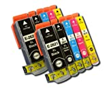 The Ink Squid 2 Sets Of T2621 + T2631/T2632/T2633/T2634 (T26 Xl 'Polar Bear') Very High Capacity Compatible Ink Cartridges For Epson Expression Premium Xp600 Xp605 Xp700 And Xp800 Printers
