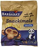 Barbaras Bakery Snackimals Animal Cookies, Vanilla, 6 1-Ounce Packages (Pack of 6)