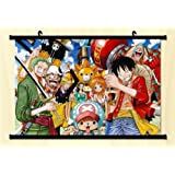 One Piece Fabric Wall Scroll Poster 24*16 Inches