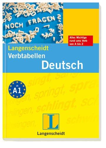 Langenscheidt Verb-Tabellen Deutsch