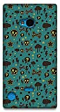 The Racoon Lean Curiosity hard plastic printed back case / cover for Nokia Lumia 720