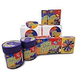 Beanboozled Gift Box Including 2 Dispensers, 1 Spinner Box, 2 Refills, and 12 Stickers