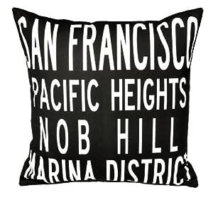 Amazon.com - San Francisco Pillow-19x19 - Throw Pillows