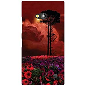 Nokia Lumia 730 Back cover - Bunch Of Flowers Designer cases