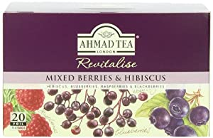 Ahmad Tea Mixed Berries Infusion, 20-Count Tea Bags (Pack of 6)