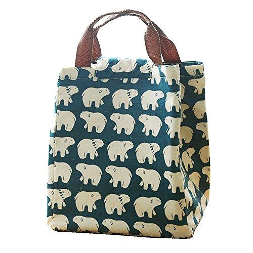 cute-reusable-cotton-lunch-bag-insulated-lunch-tote-soft-bento-cooler-bag-polar-bear