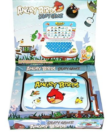 ANGRY BIRDS STUDY GAME MINI LAPTOP FOR KIDS