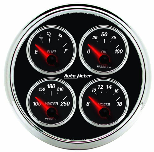 get price for Auto Meter 1211 Designer Black II 5 Short Sweep