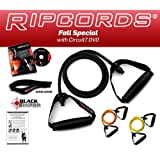 *** LIFETIME REPLACEMENT WARRANTY *** Ripcords Special - Resistance Bands Kit with DVDby Ripcords