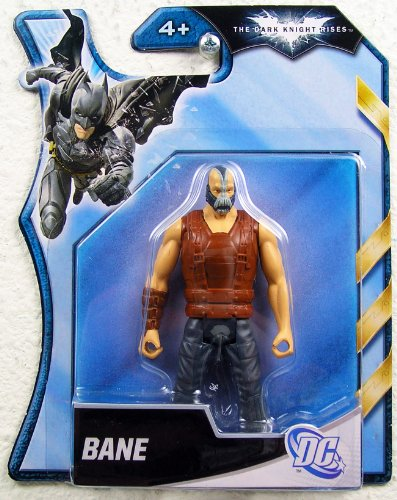 Batman Dark Knight Rises 4 Inch Action Figure Bane Brown Vest - 1