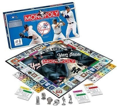 Usaopoly New York Yankees Collector's Edition Monopoly (Stores In Bronx Ny)