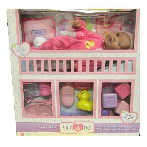You Me 14 Baby Starter Set Ethnic by Toys R Us