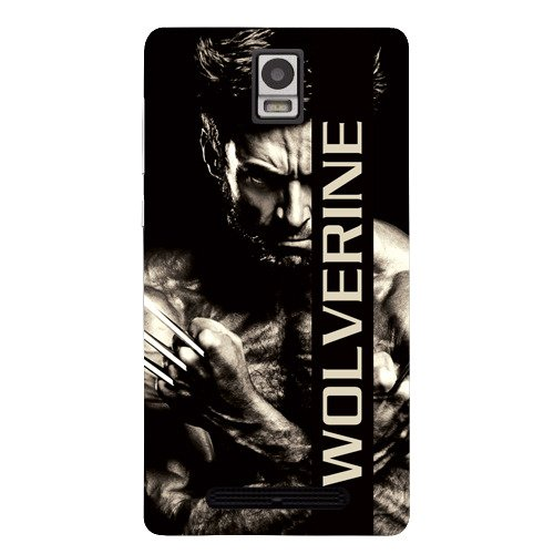 Kaira brand Designer Back Case Cover for Xolo Era (Wolverine Dark)