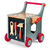 Janod DIY Magnetic Trolley Tool Box
