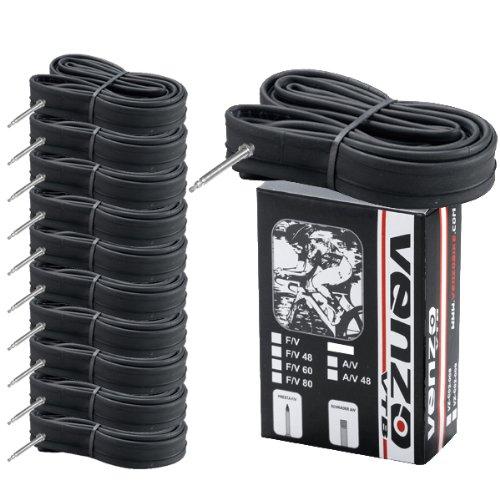 10x Venzo Road Bike Tire Inner Tubes 700x18/23c or 23/25c