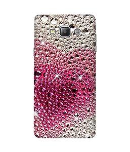 Sparkly Heart Samsung Galaxy A7 Case