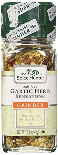 The Spice Hunter Garlic Herb Sensation Grinder, 1.6-Ounce Jar