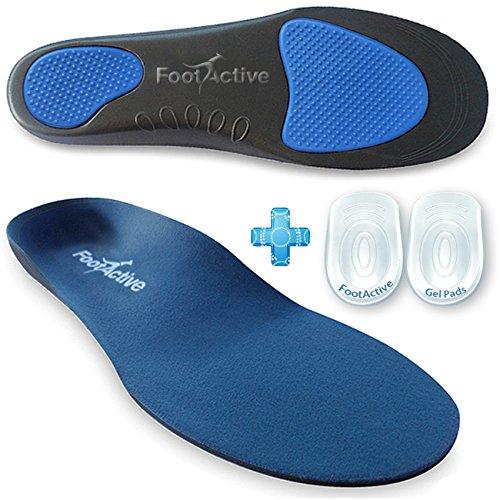 FootActive Comfort Classics - L'originale! Plantari per i piedi, gambe, schiena e per la spina calcaneare (42 - 43 M)